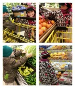 Carte blanche à mes enfants à l'épicerie
